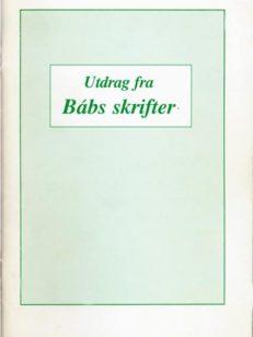 Utdrag fra Bab's skrifter