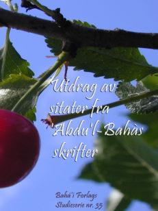 Utdrag av sitater fra Abdu'l-Bahás skrifter